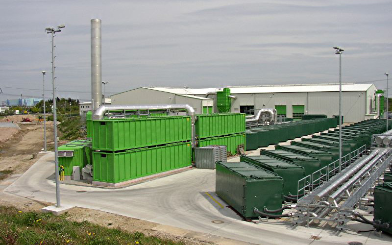 Mechanical and Biologicas Pretreatment Facility/Substitute Fuel Facility