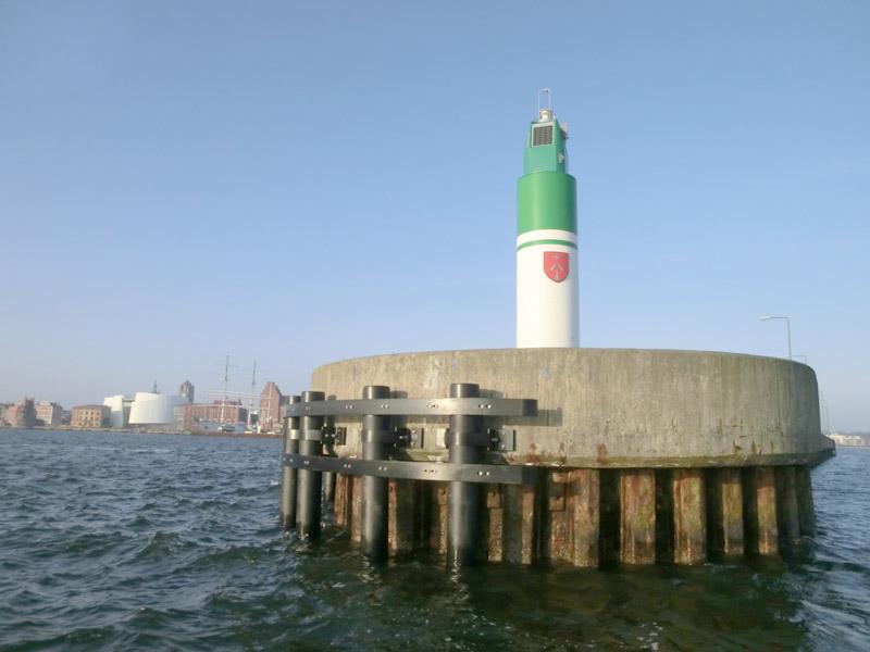 Hanseatic City of Stralsund Harbour- Approach Pier Nordmole