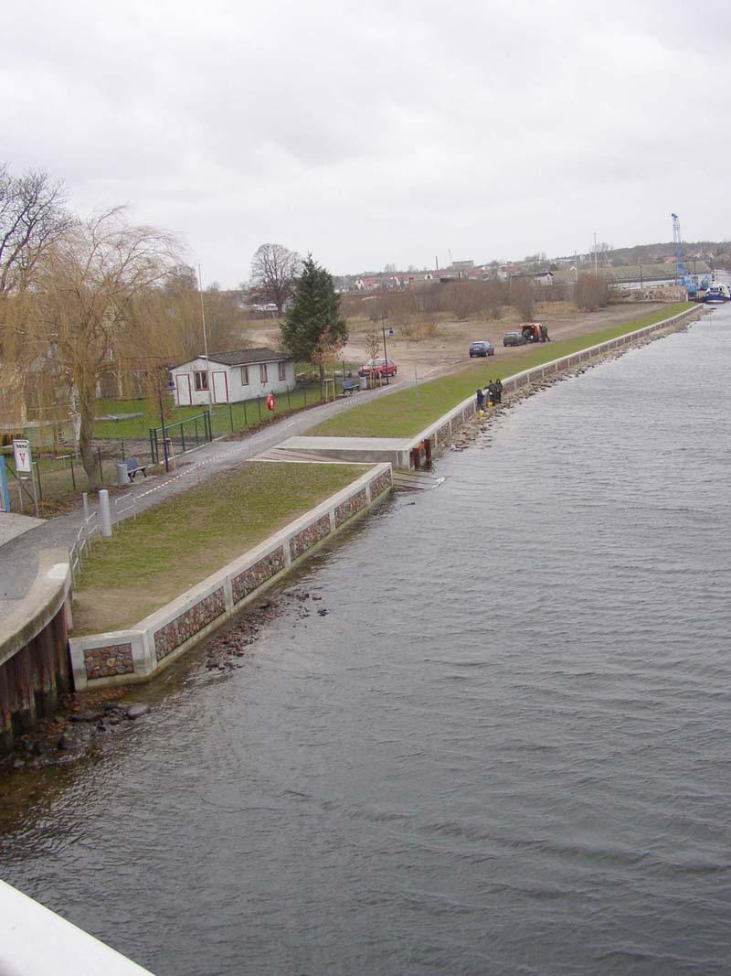 Wolgast - Schloßinsel - Erneuerung der Uferbefestigung